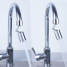 Diy Kitchen Faucet Universal Splash Filter Tap Rotate Water Outlets Bathroom Basin Lengthen Extender Kitchen Faucets Creativity Fashion Diy Tool