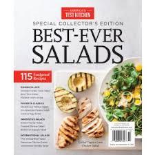 America s Test Kitchen Best Ever Salad Recipes 2016