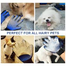 Do Samoyed Dogs Shed Hair by Amazon Com Pet Grooming Glove 2 In 1 Hair Remover Mitt Gentle
