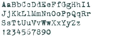 Vintage Typewriter Font Free