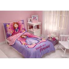 Disney Princess Bedroom Set by Disney Sofia The First 3pc Toddler Bedding Set With Bonus Matching