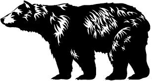 Brown Bear Clipart California Bear3103159