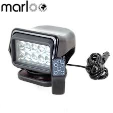 100 Truck Magnet Marloo Base Rotating Remote Control 50W LED Search Light