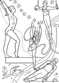 Free Printable Coloring Pages Gymnastics 2015