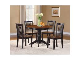 Andover Cottage Table And Chair Set With 2-Tone Finish By Homelegance At  Value City Furniture
