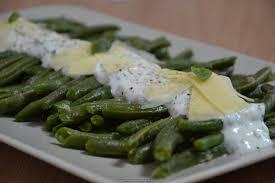 cuisiner des haricots verts salade de haricots verts et sa sauce au fromage blanc citron