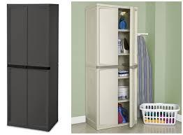 Sterilite 4 Drawer Cabinet Platinum by Sterilite Cabinet 4 Shelf Bar Cabinet