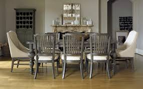 Dining RoomBerkeley Room Trends Rectangle Wood Dark Table And Amrless Cahairs