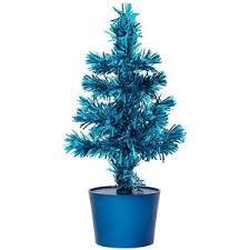 Small Fibre Optic Christmas Trees Uk by Asda Mini Fibre Optic Tree Blue Polyvore