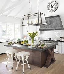cuisine avec grand ilot central grand ilot de cuisine avec lot central 43 id es inspirations
