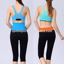 Low Price Custom Sport Bra Elastic Band Hot Yoga Wear At Target Design Ladies