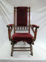 Platform Rocker Colonial Creations Mid Century Platform ... Victorian Rocking Chair Image 0 Eastlake Upholstery Fabric Application Details About Early Rocker Rocking Chair Platform Rocker Colonial Creations Mid Century Antique Restoration Broken To Beautiful 19th Mahogany New Upholstery Platform Eastlake Govisionclub Illinois Circa Victoria Auction
