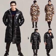 2017 best selling mens down parka fur collar winter thick white