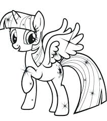 Baby My Little Pony Coloring Pages For The Best Princess Twilight Sparkle