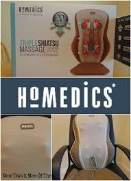 Kohls Homedics Massage Chair by Homedics Triple Shiatsu Cushion With Heat Giveaway
