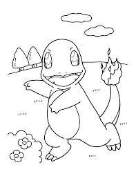 Fire Pokemon Printable Coloring Pages