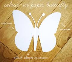 Quick Kids Craft Paper Butterfly