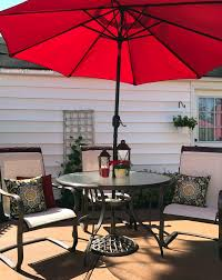 Patio Furniture Sling Replacement Houston by High Backless Red Indoor Outdoor Barstool Set Of 4 Bar Stools Ideas