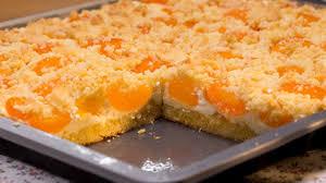 schneller quark streusel kuchen mit obst rezept