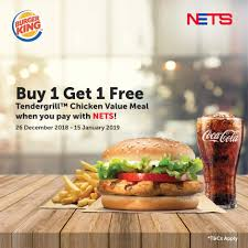Enjoy 1-for-1 Burger King's Tendergrill™ Chicken Value Meal ... Burger King Has A 1 Crispy Chicken Sandwich Coupon Through King Coupon November 2018 Ems Traing Institute Save Up To 630 With All New Bk Coupons Till 2017 Promo Hhn Free Burger King Whopper Is Doing Buy One Get Free On Whoppers From Today Craving Combo Meal Voucher Brings Back Of The Day Offer Where Burger Discounted Sets In Singapore Klook Coupons Canada Wix Codes December