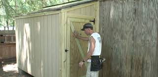 How To Build A Simple Shed Ramp by Diy Outdoor Shed Addition Today U0027s Homeowner