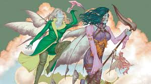 Faerie Deck Mtg Legacy by Casual Green Blue Faeries Magic The Gathering