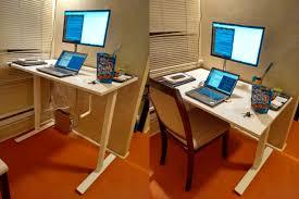 Ikea Desk Tops Uk by Sit Stand Desk Ikea Skarsta Review Chris Martin U0027s Blog