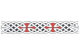 Celtic Warrior Band Tattoo Designs Tattoos Tribal Dragon