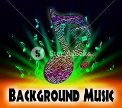 Background Music Representing Sound Track And Melody