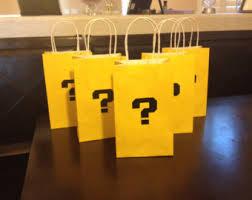 Mario Bros Question Block Lamp by Mario Mystery Box Etsy
