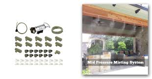 Portable Patio Misting Fans by Patio Mistng Kit Do It Yourself