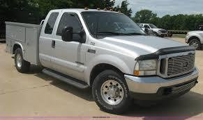 100 F350 Ford Trucks For Sale 2002 Utility Truck Item H8543 SOLD June 17 Ve