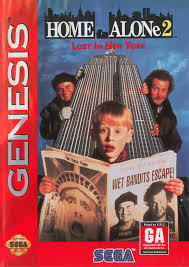 Home Alone 2 Box Shot for Genesis GameFAQs