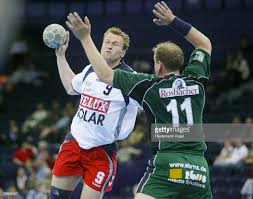 Handball Mike FRANTZ FR Gets The Ball In The Duels Versus Mario