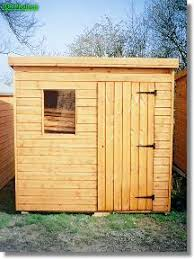6 X 5 Apex Shed by Maltby Pent Roof Garden Shed