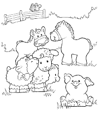 Little People Coloring Pages 9