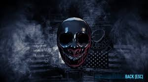 Payday 2 Halloween Masks Unlock by Infamy Which Lvl 2 Upgrade Is Best Paydaytheheist