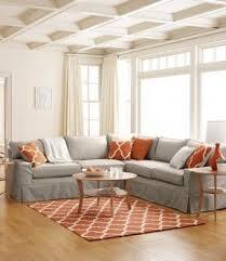 slipcover sectional sofas foter