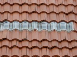 metal clay tile roof