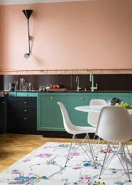 Gorgeous Colorful Kitchen Design