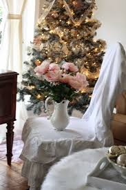 Pink Flocking Spray For Christmas Trees by Painted Flocked Christmas Tree Projects