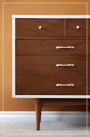 Ikea Mandal Dresser Craigslist by Furniture Mid Century Dresser Beside Desk And Study With Wooden