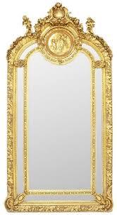 casa padrino barock spiegel gold 105 x h 210 cm prunkvoller wandspiegel im barockstil antik stil garderoben spiegel wohnzimmer spiegel barock