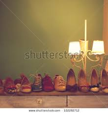 Vintage Shoes Stock Images Royalty Free Vectors