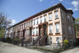 Image Of Townhouses In Brooklyn New York