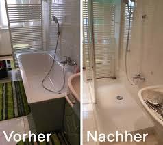 der wanne zur dusche an einem tag