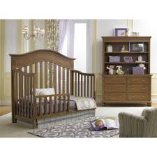 Babi Italia Dresser Cinnamon by Black And White Classic Crib Bedding Set With Polka Dots 279 00