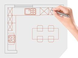 verschiedene küchenformen vorteile designs merkmale