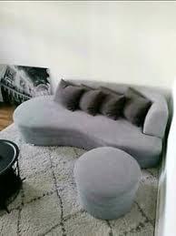 sofa silber wohnzimmer ebay kleinanzeigen