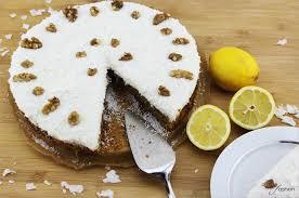 möhren walnuss torte mit zitronentopping filizity